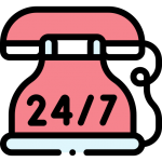 24 Hours Services Logo